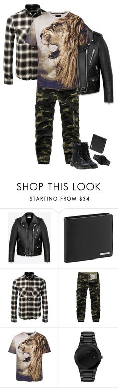 """""""Wynter II FW 201718"""" by michaelangelamontagna ❤ liked on Polyvore featuring Yves Saint Laurent, Porsche Design, AMIRI, Citizen, Off-White, men's fashion, menswear, StreetStyle, fashionset and winterstyle"""