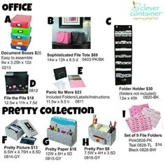 Paper clutter is the worst! But if you set up easy systems to your in coming and out going, you'll have a clean organized office Www.CleverContainer.com/emilysClever