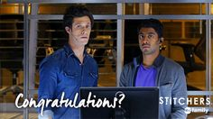 """S1 Ep8 """"Fire in the Hole"""" - Well... That's awkward.  #Stitchers"""