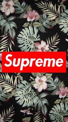 Wallpaper supreme floral