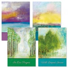 Soothing Serenity Sympathy Cards | Current Catalog