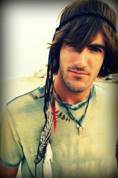 Film Festival hippie headband by EchoingWaters on Etsy, $34.00