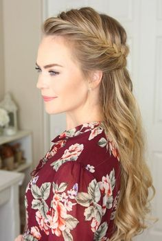 20 Fish tail french braid Updo Hairstyles 2018