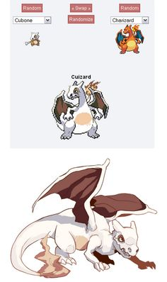 Pokemon Fusions. I really like this one.