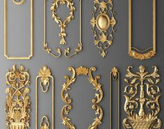 frame cartouches set model - Tracey Stevens - Welcome to the World of Decor!