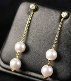 Modify: 2 GSS pearls on each earring or 1 WSS & 1 GSS