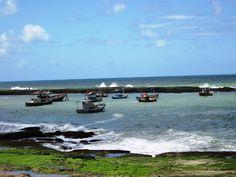 Praia de Arembepe Bahia