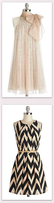 Pretty party dresses!