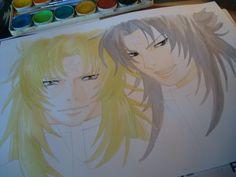 Watercolors (Hypnos & Thanatos)