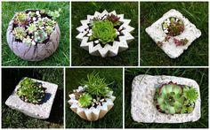 Kreative Mitbringsel aus Beton
