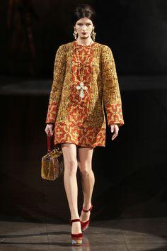 Milan Fashion Week: Dolce and Gabbana Fall 2013 / Photo by Anthea Simms