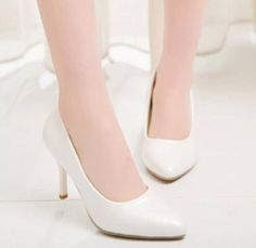 2016 Fashoin  Womens High Heels Pointy Toe Court Pumps Fashion Ol Business Shoes