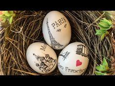 Easter egg decorating & design DIY - YouTube