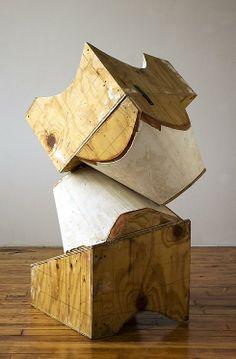 Mel Kendrick #sculpture #wood