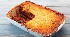 Low-carb lasagne recipe