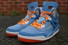 jordan spizike university blue italy blue vivid orange 4 570x380 Jordan Spizike Italy Blue   New Photos