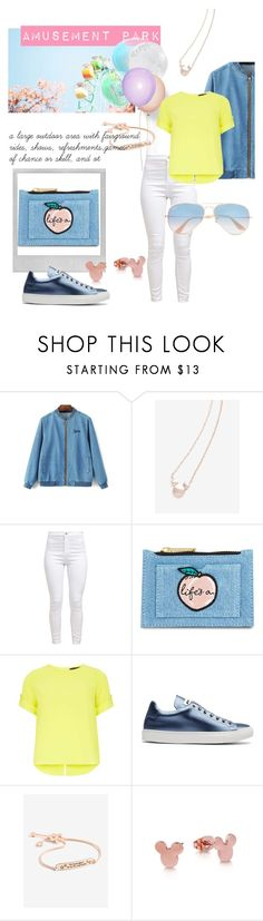 """Parque de Diversiones"" by karen-ponce-1 ❤ liked on Polyvore featuring Polaroid, Skinnydip, Dorothy Perkins, Jil Sander and Ray-Ban"