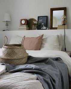 Hygge bedroom decor