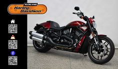 2016 HARLEY-DAVIDSON VRSCDX in Velocity Red Sunglo At Auckland Harley-Davidson,  New Zealand www.amps.co.nz