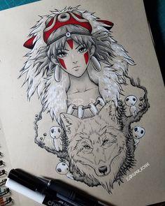 diy tattoo images - tattoo images drawings - tattoo images women - tattoo images vintage - tattoo im Anime Art, Character Design, Art Drawings, Drawings, Ghibli Tattoo, Art, Anime Tattoos, Anime Drawings, Diy Tattoo