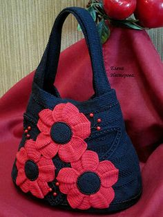 bag - mooie tas met bloem