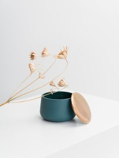 Saimi container in Royal Green by Laura Itkonen. Available at www.uumarket.fi  UU Market: Home of New Finnish Design.