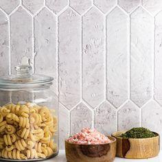 Belcrest Glazed Blanco 2x8 Tile | TileBar.com