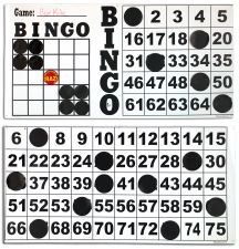 Perfect alternative to expensive Electronic Bingo Flash Boards; Can be assembled x or x ; Large and easy-to-read numbers Bingo Games, Novelty Items, Board Games, Magnets, Numbers, Alternative, Chips, Boards, Easy