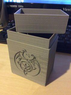 MTG+Dragon+Deck+Box+by+Archimiedies.