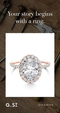 Handcrafted in California over a period of up to 20 hours, each Danhov engagement ring marries precision with art.