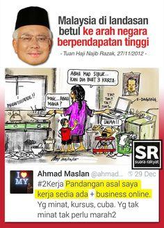 Janji yang rakyat Malaysia tidak perlu buat 2 kerja dan GST akan dihapuskan jika berjaya tubuh kerajaan baharu