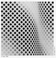 Bridget Riley - one of my favorite optical illusion artists