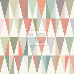 Tableau poster fond pastel abstrait g om trique avec des for Tableau geometrique pastel