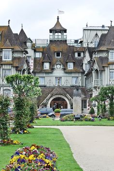 Barriere Hotel - Deauville, Normandie - right on the beach, indoor pool, great cuisine, bicycles available, and dogs welcome!