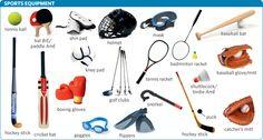 Forum | ________ Learn English | Fluent LandSports Equipment in English | Fluent Land