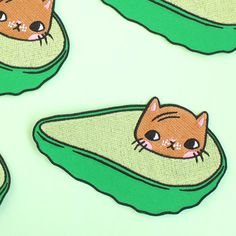 Etsy の Avocatdo Patch by ponyponypeoplepeople