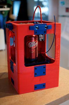 Tantillus mini 3D printer.Join the 3D Printing Conversation: http://www.fuelyourproductdesign.com/