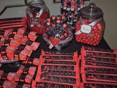 Golosinas y Frascos Personalizados... Waffles, Bar, Love, Breakfast, Event Organization, Treats, Jars, Amor, Breakfast Cafe