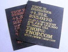70 NEW amazing business cards