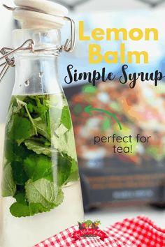 Lemon Balm Recipes, Lemon Balm Uses, Herb Recipes, Lemon Balm Tea Benefits, Lemon Uses, Pina Colada, Yummy Drinks, Healthy Drinks, Eating Healthy