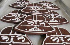 Cioccolato Darth Vader biscotti