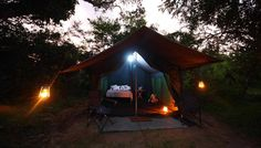 Camping at Yala National Park. Get as close as possible to nature and its animals as you spend a night in a camp at Yala National Park.  Remember to include this in your holiday in Sri Lanka with Traverse Lanka Tours!
