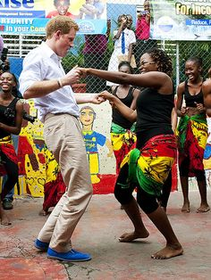 Prince Harry at the Rise Life charity project in Jamaica, March 6, 2012. (click for more photos)