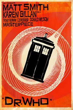 Dr Who - Vertigo Poster - Crowsmack