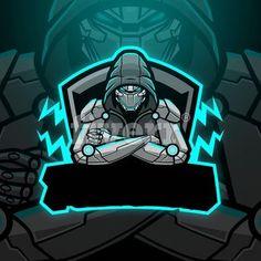 Logo Desing, Team Logo Design, Mascot Design, Logo D'art, Hacker Logo, Logo Foto, Ninja Logo, Professional Logo Design, How To Make Logo