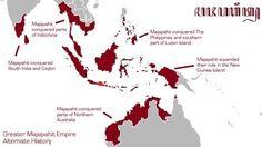 Majapahit Kingdom factual. Indonesia history.