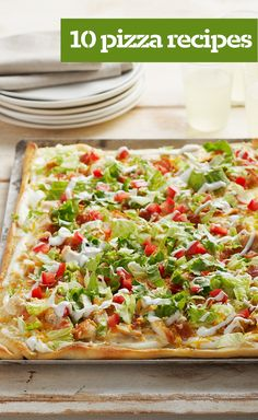 10 Pizza Recipes — Our top-rated pizza recipes are sure to please - whether you are looking for a classic homemade pizza or a gourmet pizza, vegetarian or meat-lover's style, we've got your recipes right here!