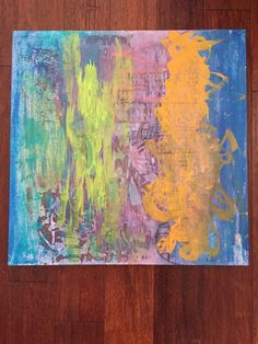 A personal favorite from my Etsy shop https://www.etsy.com/listing/249638696/235x235x1-canvas-acrylic-abstract