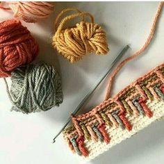 #tığişi #crochet #örgüyegüzelleme #renkahenk