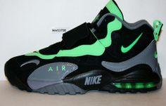 82a30bd066 AUTHENTIC NIKE Air Max Speed Turf Poison Green Black Gey # 525225 030 Men sz
